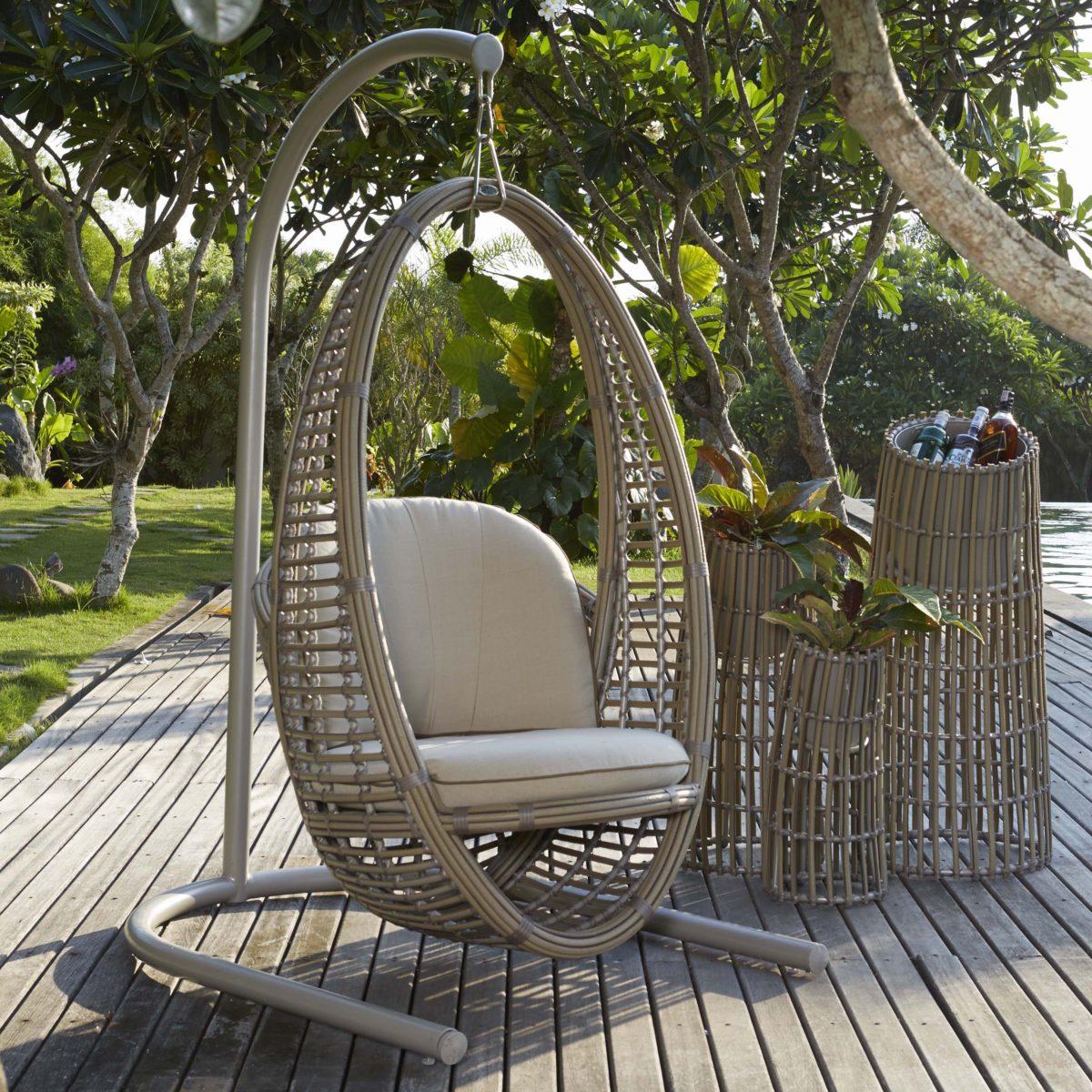 Heri Hanging Chair + Planters - KMNP