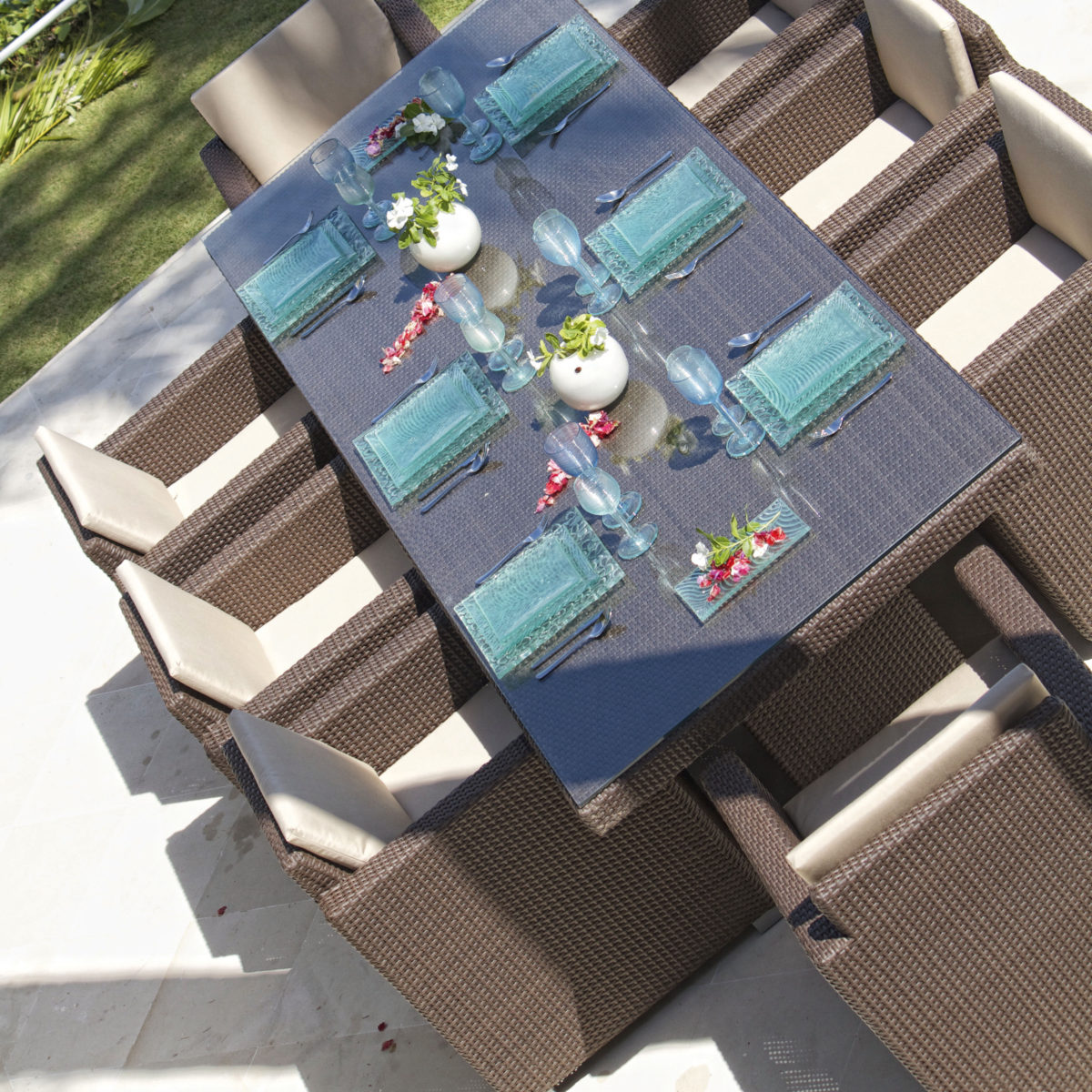 Pacific Rect Dining Table sq