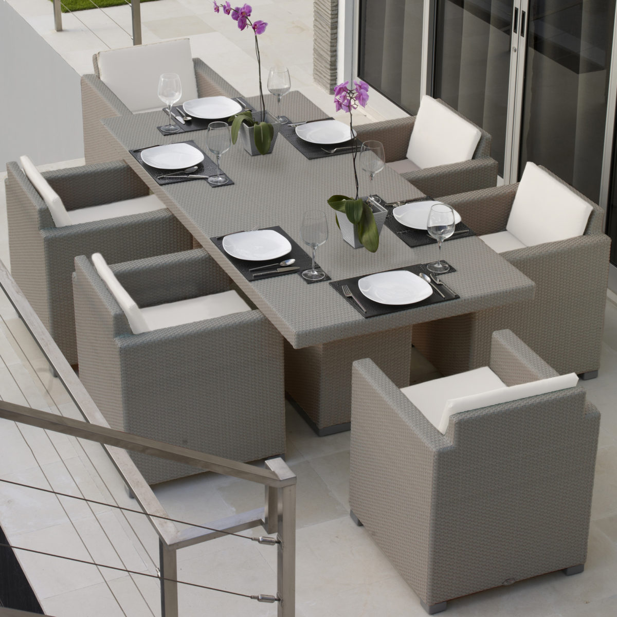 Pacific Rect Dining Set