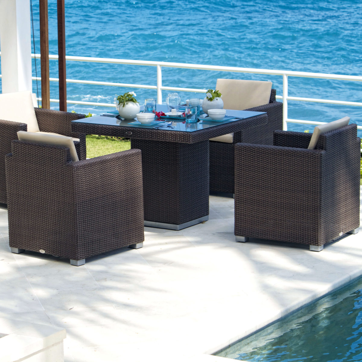 Pacific Square Dining Set