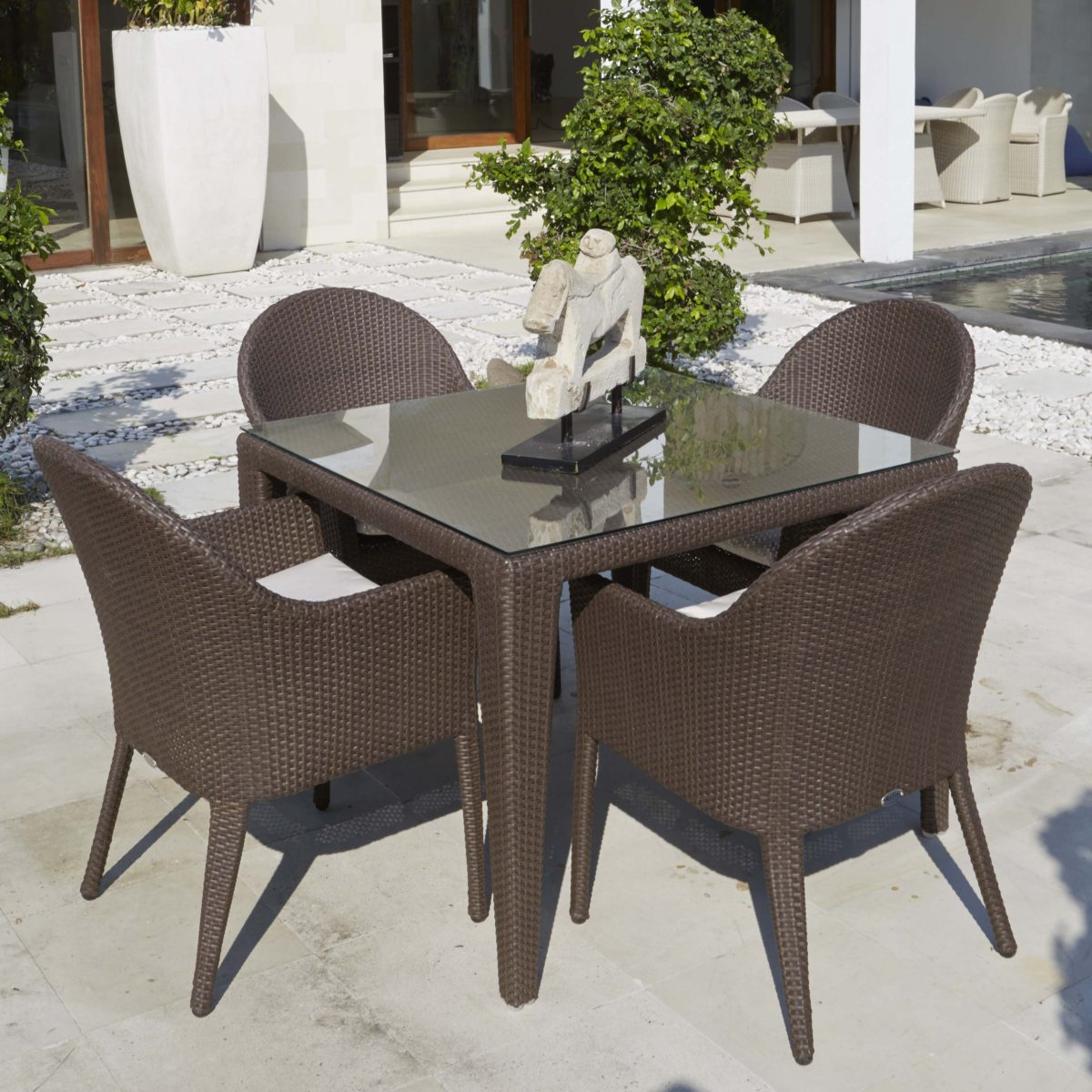 Malta Square Dining Set